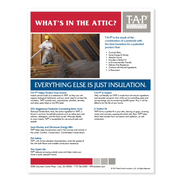 What's in the Attic? (WITA) Customizable Marketing Flyer