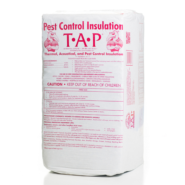 A Bag of TAP® Pest Control Insulation
