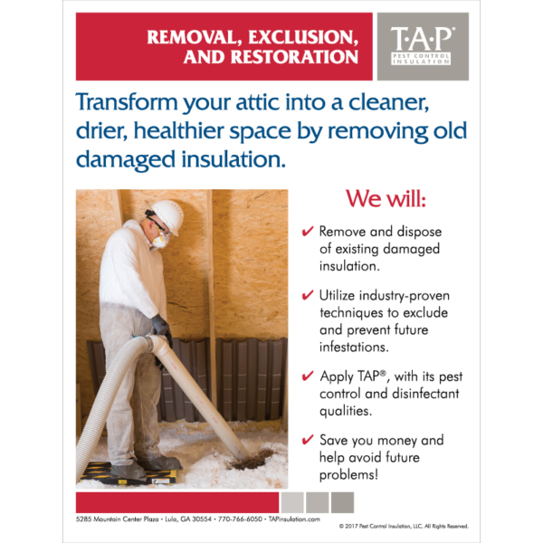 Wildlife Removal TAP® Presentation Folder Insert