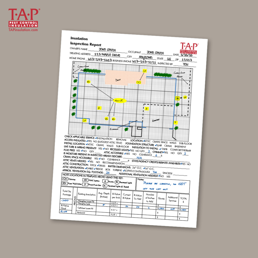 Create an Accurate TAP® Quote